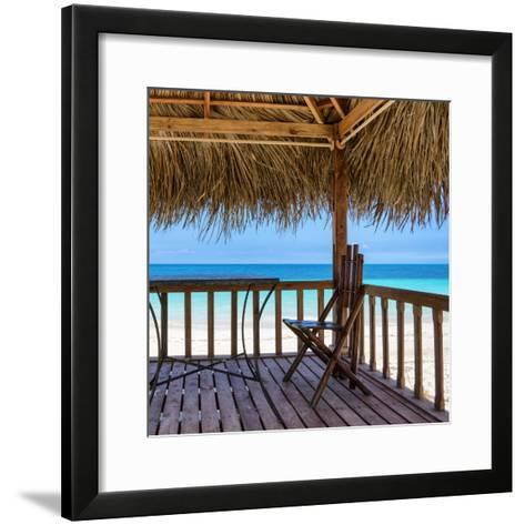 Cuba Fuerte Collection SQ - Serenity II-Philippe Hugonnard-Framed Art Print