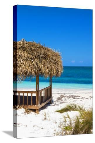 Cuba Fuerte Collection - Paradise Beach II-Philippe Hugonnard-Stretched Canvas Print