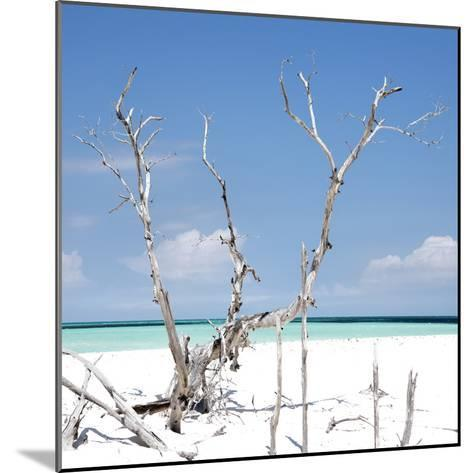 Cuba Fuerte Collection SQ - Blue Serenity-Philippe Hugonnard-Mounted Photographic Print