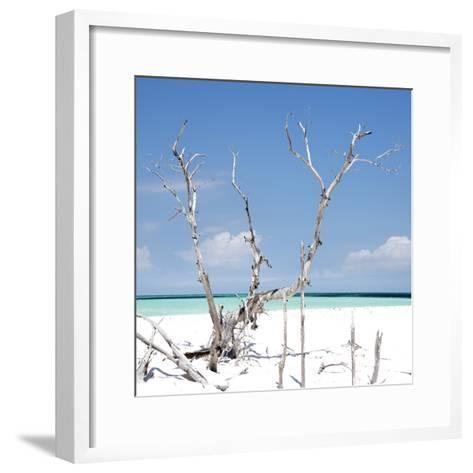 Cuba Fuerte Collection SQ - Blue Serenity-Philippe Hugonnard-Framed Art Print