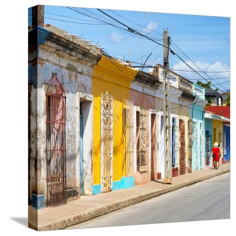 Cuba Fuerte Collection SQ - Colorful Trinidad II-Philippe Hugonnard-Stretched Canvas Print