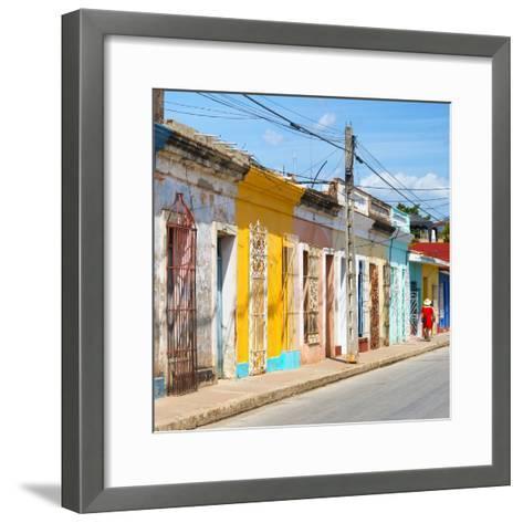 Cuba Fuerte Collection SQ - Colorful Trinidad II-Philippe Hugonnard-Framed Art Print