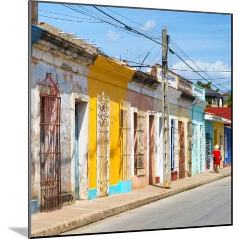 Cuba Fuerte Collection SQ - Colorful Trinidad II-Philippe Hugonnard-Mounted Photographic Print
