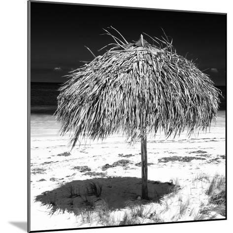 Cuba Fuerte Collection SQ BW - Wild Umbrella-Philippe Hugonnard-Mounted Photographic Print