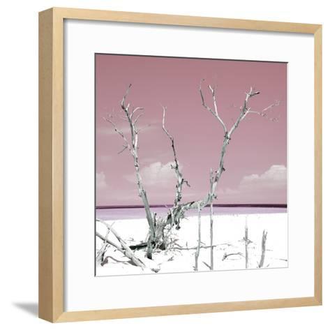 Cuba Fuerte Collection SQ - Hot Pink Serenity-Philippe Hugonnard-Framed Art Print