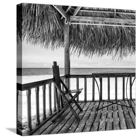 Cuba Fuerte Collection SQ BW - Serenity II-Philippe Hugonnard-Stretched Canvas Print