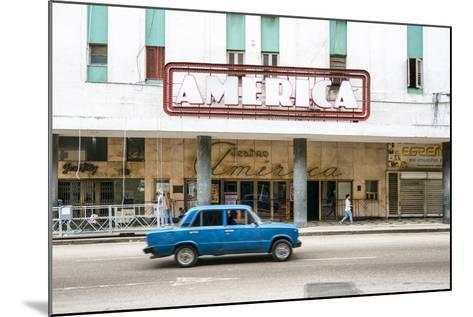 Cuba Fuerte Collection - Teatro America in Havana-Philippe Hugonnard-Mounted Photographic Print