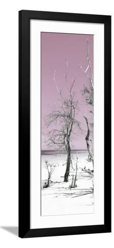 Cuba Fuerte Collection Panoramic - Pale Violet Summer-Philippe Hugonnard-Framed Art Print