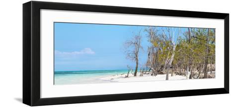 Cuba Fuerte Collection Panoramic - White Sand Beach-Philippe Hugonnard-Framed Art Print