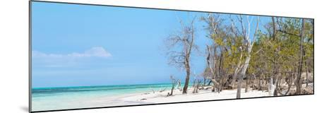 Cuba Fuerte Collection Panoramic - White Sand Beach-Philippe Hugonnard-Mounted Photographic Print