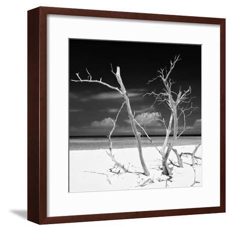 Cuba Fuerte Collection SQ BW - Stillness-Philippe Hugonnard-Framed Art Print