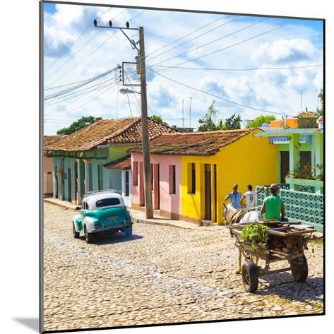 Cuba Fuerte Collection SQ - Trinidad Street Scene II-Philippe Hugonnard-Mounted Photographic Print