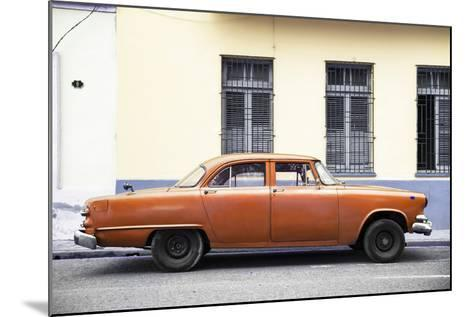 Cuba Fuerte Collection - Orange Car-Philippe Hugonnard-Mounted Photographic Print
