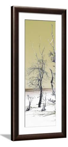 Cuba Fuerte Collection Panoramic - Yellow Summer-Philippe Hugonnard-Framed Art Print
