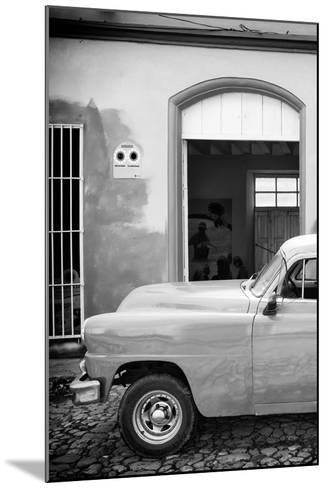 Cuba Fuerte Collection B&W - Classic Car II-Philippe Hugonnard-Mounted Photographic Print