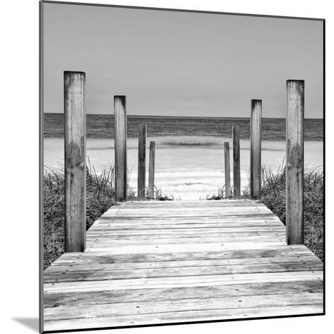 Cuba Fuerte Collection SQ II - Boardwalk on the Beach-Philippe Hugonnard-Mounted Photographic Print