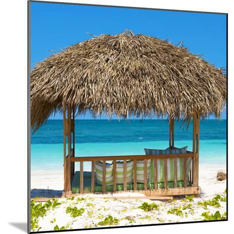 Cuba Fuerte Collection SQ - Beach Hut-Philippe Hugonnard-Mounted Photographic Print