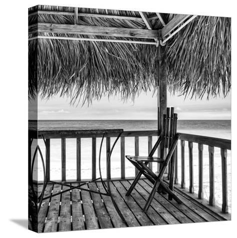 Cuba Fuerte Collection SQ BW - Serenity III-Philippe Hugonnard-Stretched Canvas Print