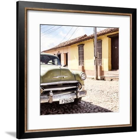 Cuba Fuerte Collection SQ - Old Cuban Chevy IV-Philippe Hugonnard-Framed Art Print