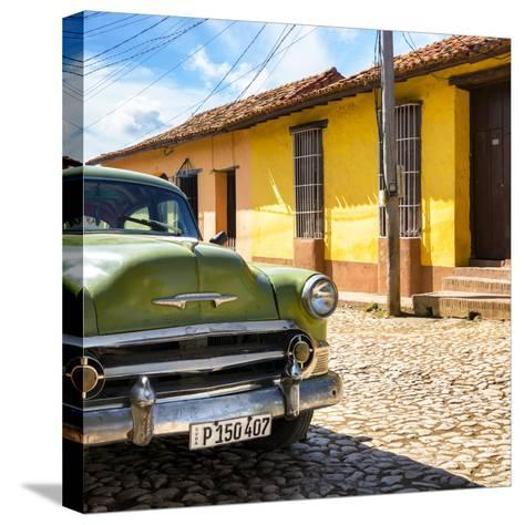 Cuba Fuerte Collection SQ - Old Cuban Chevy III-Philippe Hugonnard-Stretched Canvas Print