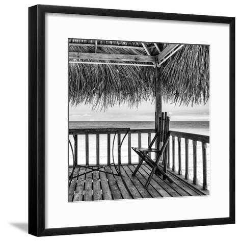 Cuba Fuerte Collection SQ BW - Serenity III-Philippe Hugonnard-Framed Art Print