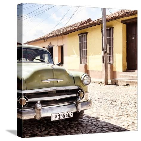 Cuba Fuerte Collection SQ - Old Cuban Chevy IV-Philippe Hugonnard-Stretched Canvas Print