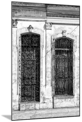 Cuba Fuerte Collection B&W - Cuban Architecture II-Philippe Hugonnard-Mounted Photographic Print