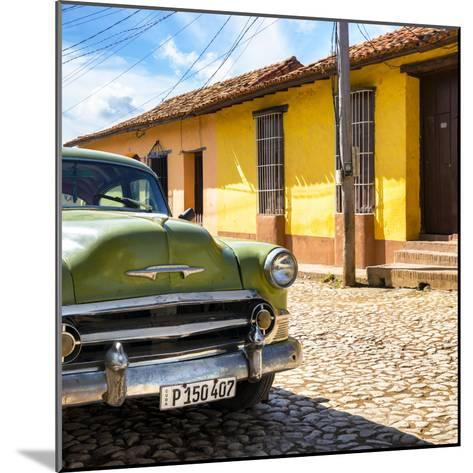 Cuba Fuerte Collection SQ - Old Cuban Chevy III-Philippe Hugonnard-Mounted Photographic Print