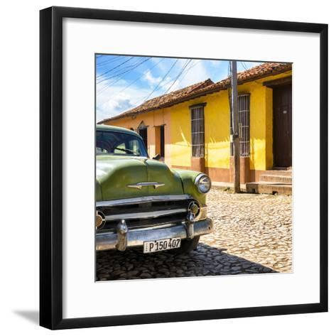 Cuba Fuerte Collection SQ - Old Cuban Chevy III-Philippe Hugonnard-Framed Art Print