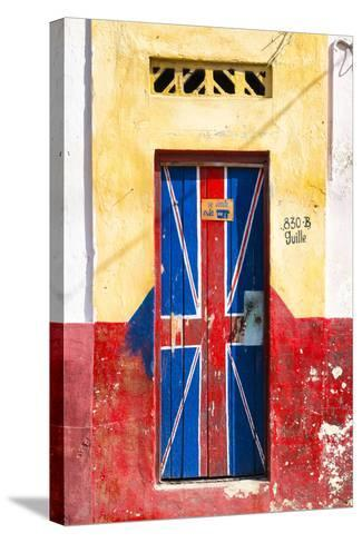 "Cuba Fuerte Collection - ""830 Guille"" English Door-Philippe Hugonnard-Stretched Canvas Print"
