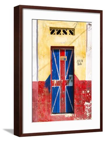 "Cuba Fuerte Collection - ""830 Guille"" English Door-Philippe Hugonnard-Framed Art Print"