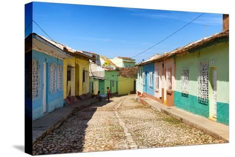 Cuba Fuerte Collection - Colorful Architecture Trinidad VI-Philippe Hugonnard-Stretched Canvas Print