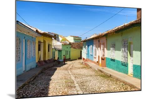 Cuba Fuerte Collection - Colorful Architecture Trinidad VI-Philippe Hugonnard-Mounted Photographic Print