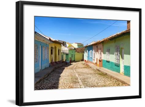 Cuba Fuerte Collection - Colorful Architecture Trinidad VI-Philippe Hugonnard-Framed Art Print