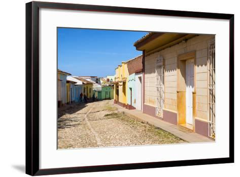 Cuba Fuerte Collection - Colorful Architecture Trinidad V-Philippe Hugonnard-Framed Art Print