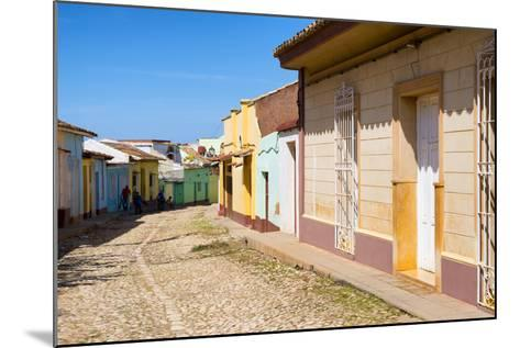 Cuba Fuerte Collection - Colorful Architecture Trinidad V-Philippe Hugonnard-Mounted Photographic Print