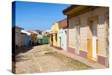Cuba Fuerte Collection - Colorful Architecture Trinidad V-Philippe Hugonnard-Stretched Canvas Print