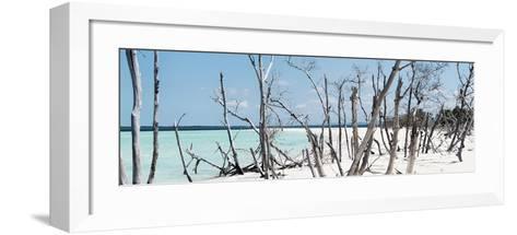 Cuba Fuerte Collection Panoramic - Tropical Wild Beach-Philippe Hugonnard-Framed Art Print