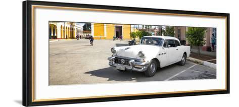 Cuba Fuerte Collection Panoramic - Main square of Santa Clara-Philippe Hugonnard-Framed Art Print