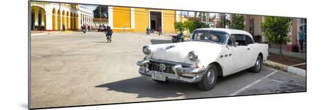 Cuba Fuerte Collection Panoramic - Main square of Santa Clara-Philippe Hugonnard-Mounted Photographic Print