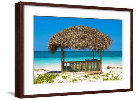 Cuba Fuerte Collection - Beach Hut-Philippe Hugonnard-Framed Art Print