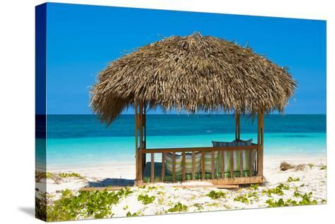 Cuba Fuerte Collection - Beach Hut-Philippe Hugonnard-Stretched Canvas Print
