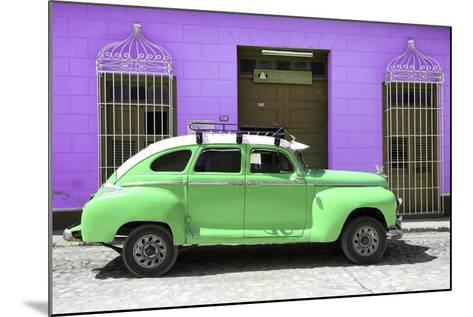 Cuba Fuerte Collection - Green Vintage Car Trinidad-Philippe Hugonnard-Mounted Photographic Print