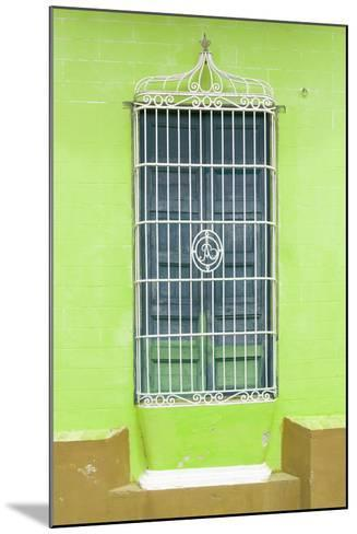 Cuba Fuerte Collection - Colorful Cuban Window II-Philippe Hugonnard-Mounted Photographic Print