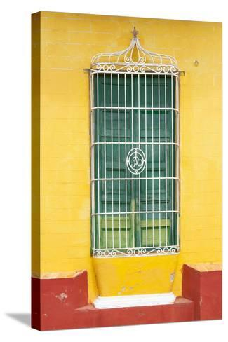 Cuba Fuerte Collection - Colorful Cuban Window-Philippe Hugonnard-Stretched Canvas Print