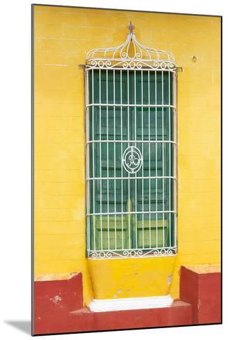 Cuba Fuerte Collection - Colorful Cuban Window-Philippe Hugonnard-Mounted Photographic Print
