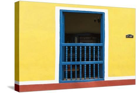 Cuba Fuerte Collection - Colorful Window-Philippe Hugonnard-Stretched Canvas Print