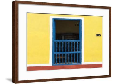 Cuba Fuerte Collection - Colorful Window-Philippe Hugonnard-Framed Art Print