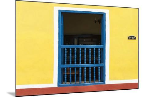 Cuba Fuerte Collection - Colorful Window-Philippe Hugonnard-Mounted Photographic Print