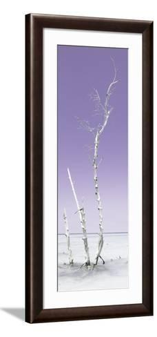 Cuba Fuerte Collection Panoramic - Ocean Nature - Pastel Purple-Philippe Hugonnard-Framed Art Print